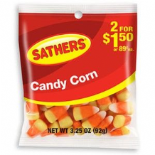 Sathers' Candy Corn From Brach's 92g